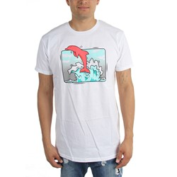 Pink Dolphin - Mens Box Wave T-Shirt