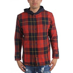 10 Deep - Mens CB's Hooded Flannel Woven