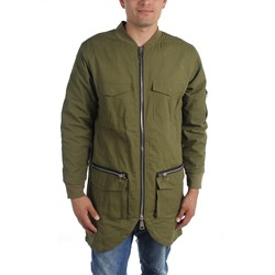Civil Clothing - Mens Long Military Fishtail Jacket