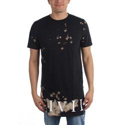 Civil Clothing - Mens Civil Regime Bleach Long Side Split T-Shirt