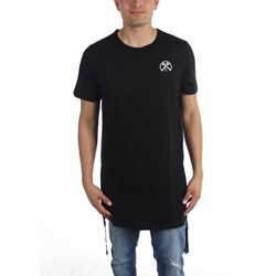 Civil Clothing - Mens Extended Long Zip T-Shirt
