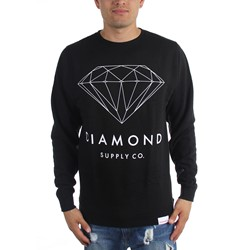 Diamond Supply - Mens Brilliant Diamond Crewneck Sweater