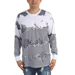 Staple - Mens Concrete Stripe Longsleeve Shirt