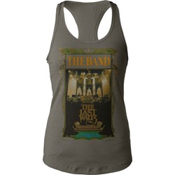 The Band - Womens The Last Waltz Juniors Tank Top