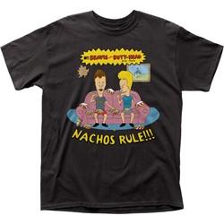 Beavis & Butt-Head - Mens Nachos Rule Adult T-Shirt