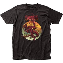 Carnage - Mens Climbing Out Fitted Jersey T-Shirt