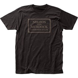 Daredevil - Mens Nelson And Murdock Fitted Jersey T-Shirt