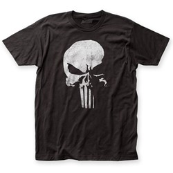 Daredevil - Mens Punisher Logo Fitted Jersey T-Shirt