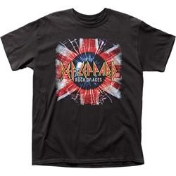 Def Leppard - Mens Rock Of Ages Adult T-Shirt