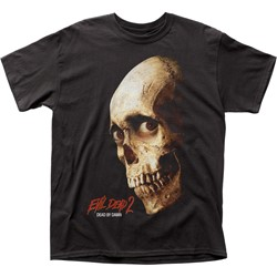 Evil Dead II - Mens Dead By Dawn Color Poster Adult T-Shirt