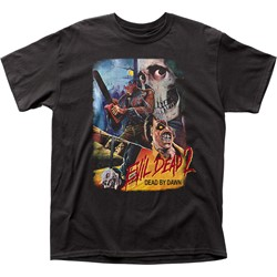 Evil Dead II - Mens Thai Poster Adult T-Shirt