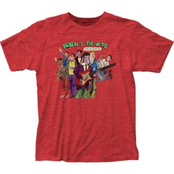 Frank Zappa - Mens Ruben & The Jets Fitted Jersey T-Shirt