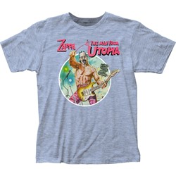 Frank Zappa - Mens The Man From Utopia Fitted Jersey T-Shirt