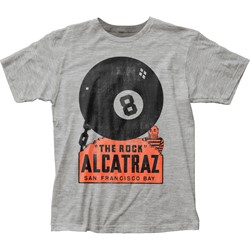 Impact Original - Mens Alcatraz Fitted Jersey T-Shirt