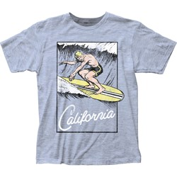 Impact Original - Mens Surf'S Up Fitted Jersey T-Shirt