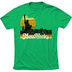 Impact Original - Mens The Big Apple Fitted Jersey T-Shirt