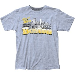Impact Original - Mens S Boston Fitted Jersey T-Shirt