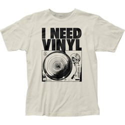 Impact Original - Mens I Need Vinyl Fitted Jersey T-Shirt