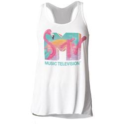 MTV - Womens Spring Break Juniors Slouchy Tank Top