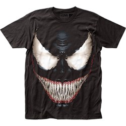Venom - Mens Sinister Smile Fitted Jersey T-Shirt