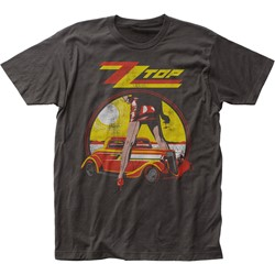 ZZ Top - Mens Legs Fitted Jersey T-Shirt