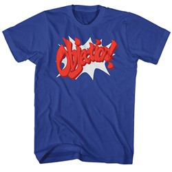 Ace Attorney - Mens Objection! T-Shirt