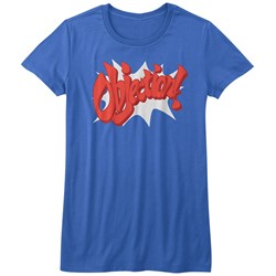 Ace Attorney - Womens Objection! T-Shirt