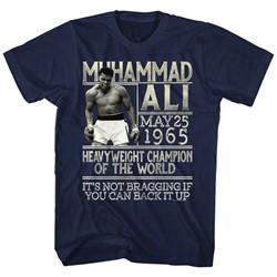 Muhammad Ali - Mens Back It Up T-Shirt