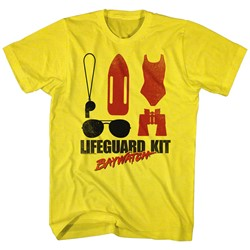 Baywatch - Mens Lifeguard Kit T-Shirt