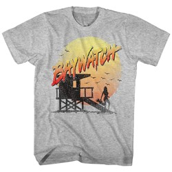 Baywatch - Mens Cracked Up T-Shirt
