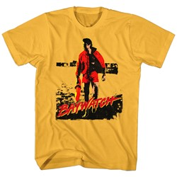 Baywatch - Mens Red Dawn T-Shirt