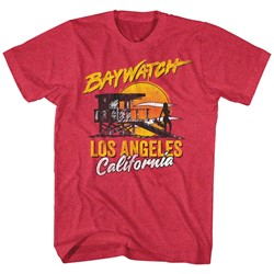 Baywatch - Mens Retrowatch T-Shirt