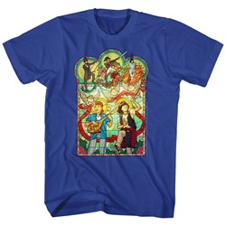 Bill And Ted - Mens Stained Glass T-Shirt