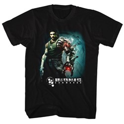 Bionic Commando - Mens Steam Arm T-Shirt