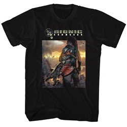 Bionic Commando - Mens The World Burn T-Shirt
