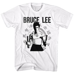 Bruce Lee - Mens Chucks T-Shirt