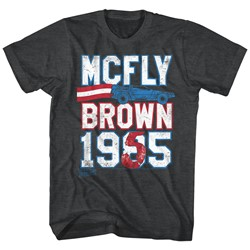 Back To The Future - Mens Marty For Prez T-Shirt