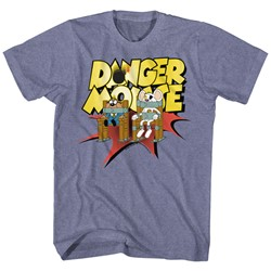 Danger Mouse - Mens Chair Strapped T-Shirt