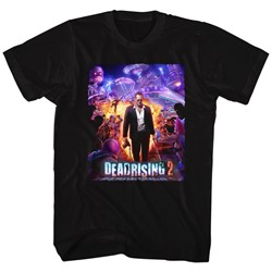 Dead Rising - Mens Purple Action T-Shirt