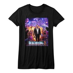 Dead Rising - Womens Purple Action T-Shirt