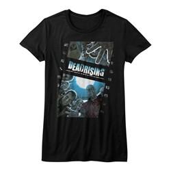 Dead Rising - Womens Zombiefilm T-Shirt