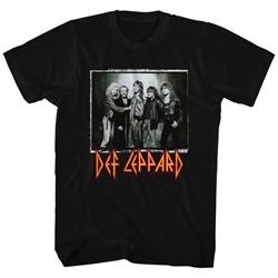 Def Leppard - Mens World Tour T-Shirt