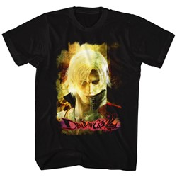 Devil May Cry - Mens Grunge Stare T-Shirt