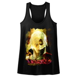 Devil May Cry - Womens Grunge Stare Tank Top