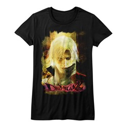 Devil May Cry - Womens Grunge Stare T-Shirt