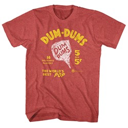 Dum Dums - Mens World'S Best Pop T-Shirt