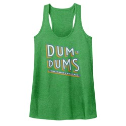 Dum Dums - Womens Stacked Dum Tank Top