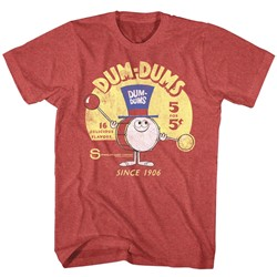 Dum Dums - Mens Drum Man Ad T-Shirt