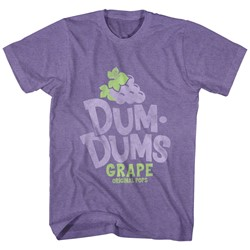Dum Dums - Mens Grape T-Shirt