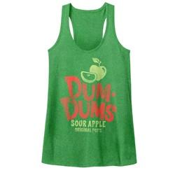 Dum Dums - Womens Sour Apple Tank Top